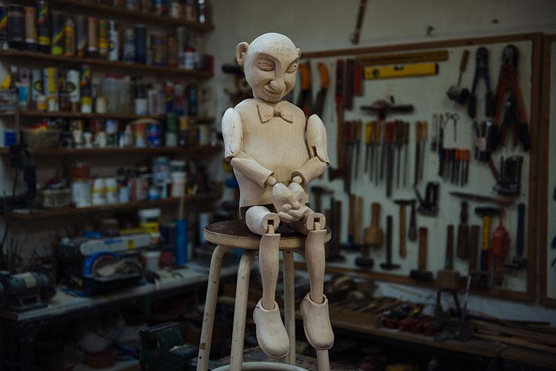 Selfie Automaton Puppet-Exposición Titirimundi 2019